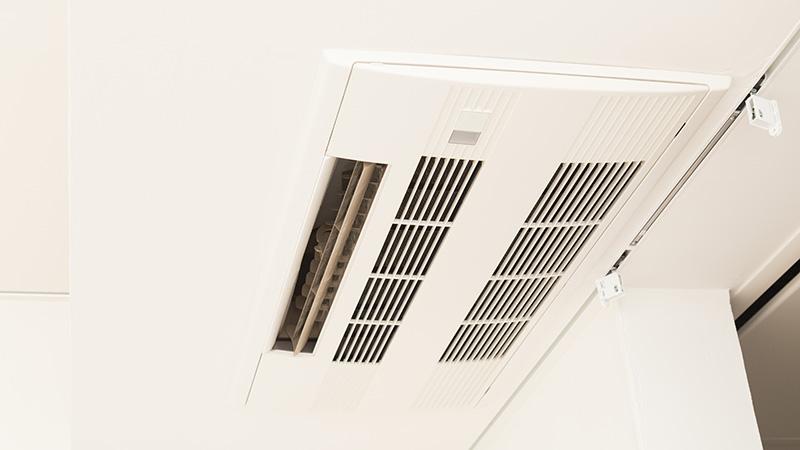 空調設備リフォーム画像