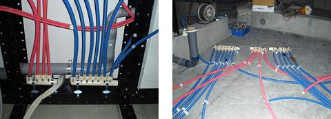 サヤ管ヘッダー工法イメージ